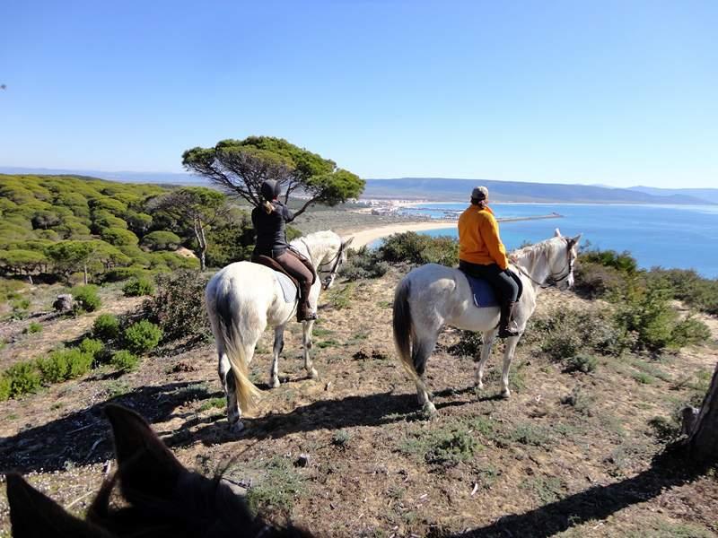 Overlooking the beach Hierbabuena