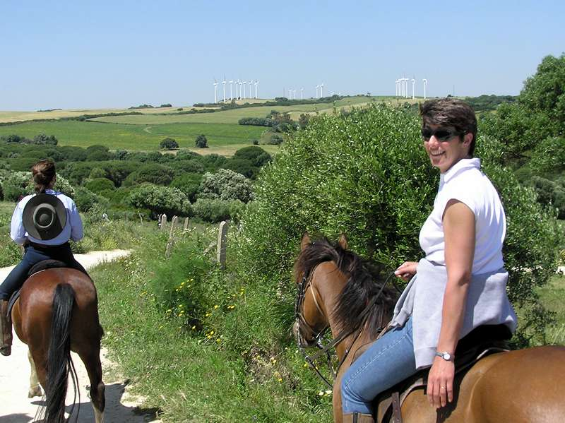 Superb views on our horse riding holidays