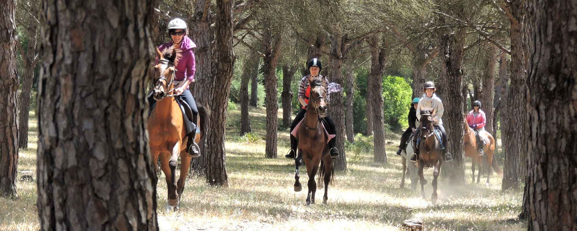 Unspoilt countryside for horse riding holidays