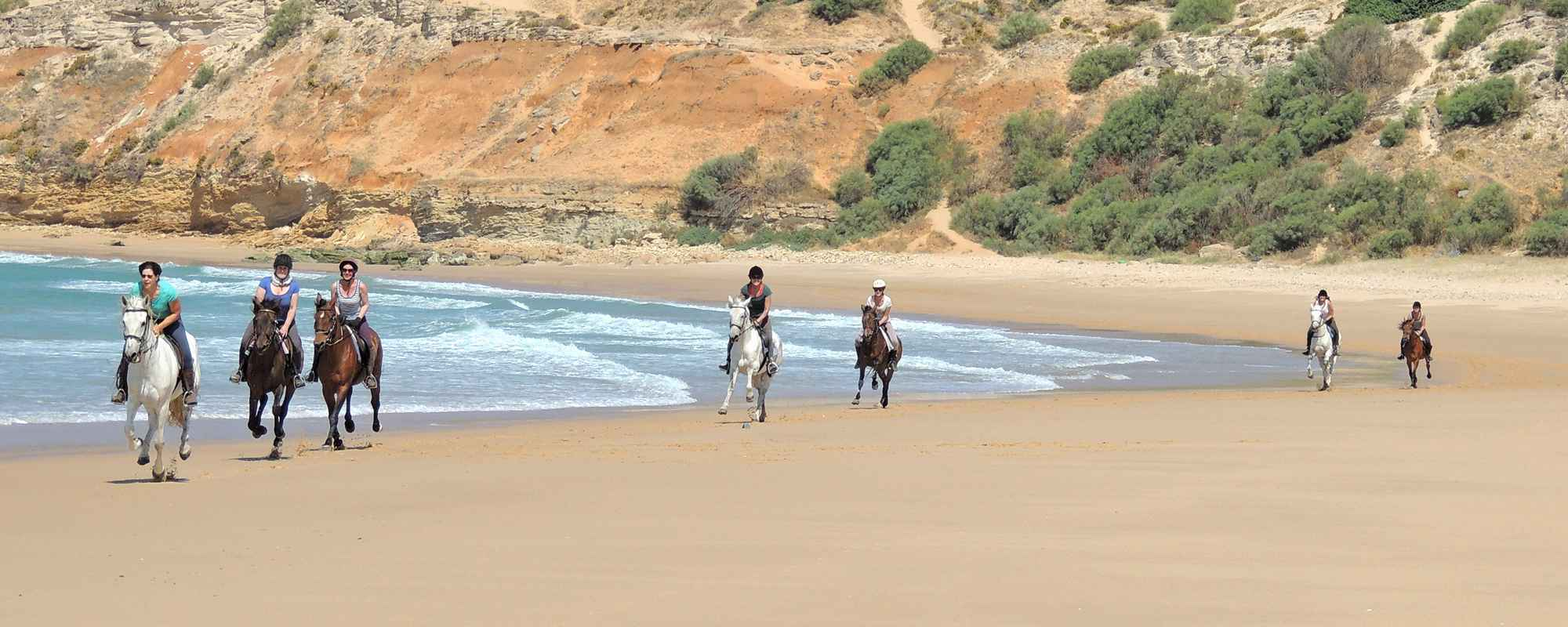 Equestrian vacation in the Cadiz province in Spain.
